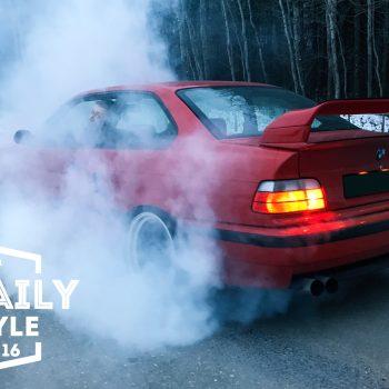 BMW e36 Turbo, BURNOUT, Volkswagen Golf mk1, Garage — Shimfoto, Lifestyle Episode 16.