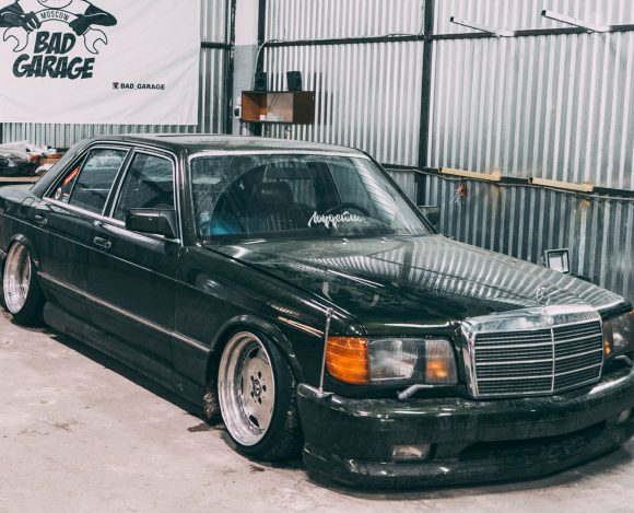 Mercedes Benz W126 V8 560SE / ПЕРЕКРЫЛИ МКАД / Burnout / Air Bagged /EP 18 Lowdaily Lifestyle.