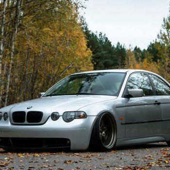 BMW E46 Compact — Static