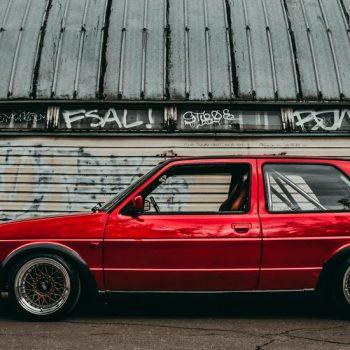 Volkswagen Golf MK2 — BBS RM — Pussy Lovers Garage.