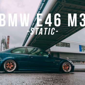 BMW E46 M3 — Static — Schmidt — Fancywide — 4K