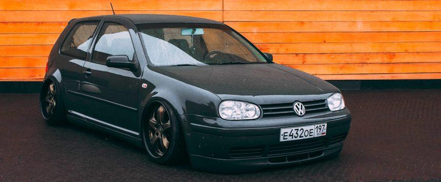 Volkswagen Golf MK4 — Slate Gray