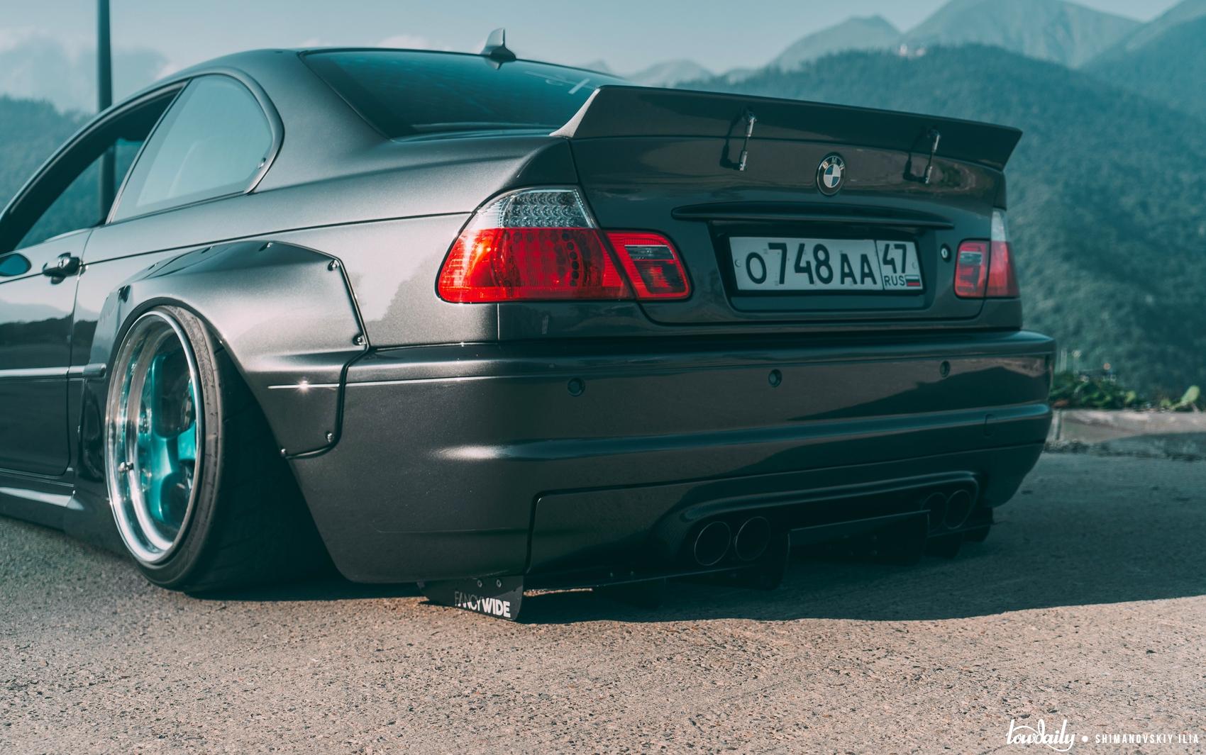 DSC03918 BMW E46 M3 Pandem Fancywide