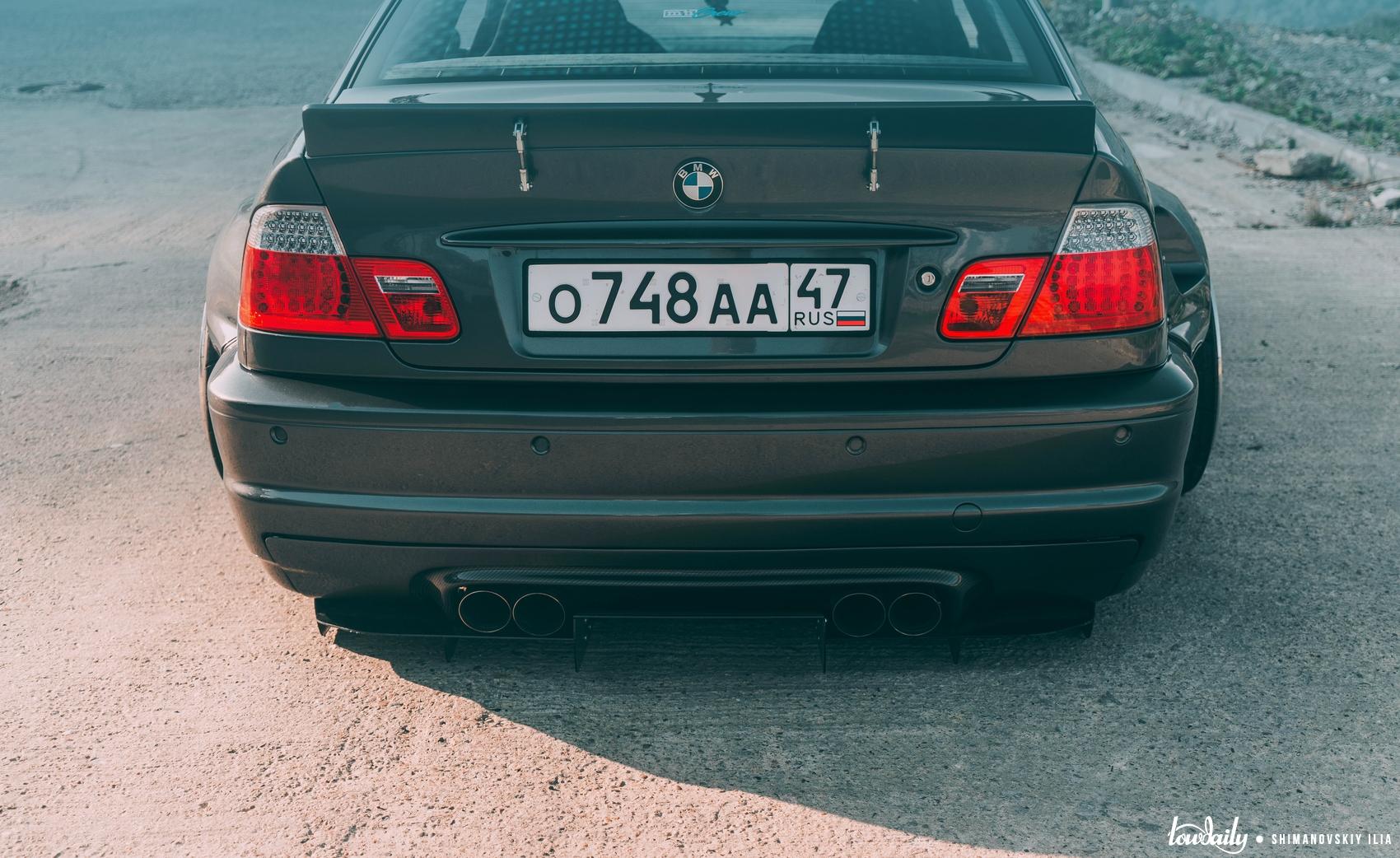 DSC03924 BMW E46 M3 Pandem Fancywide