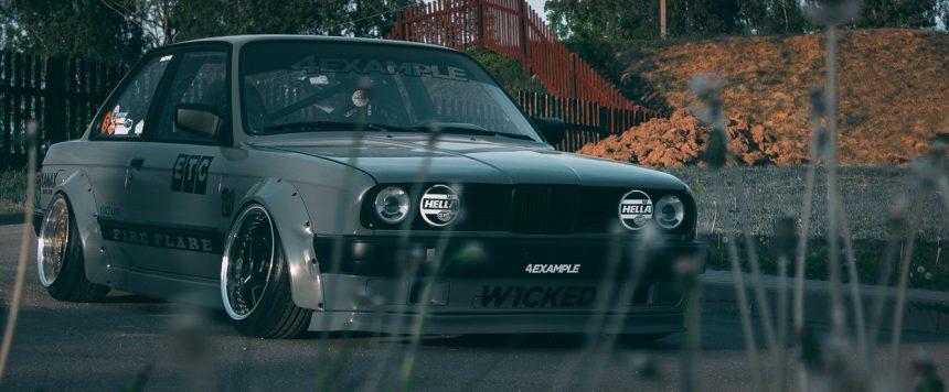 BMW E30 — Static Odessa