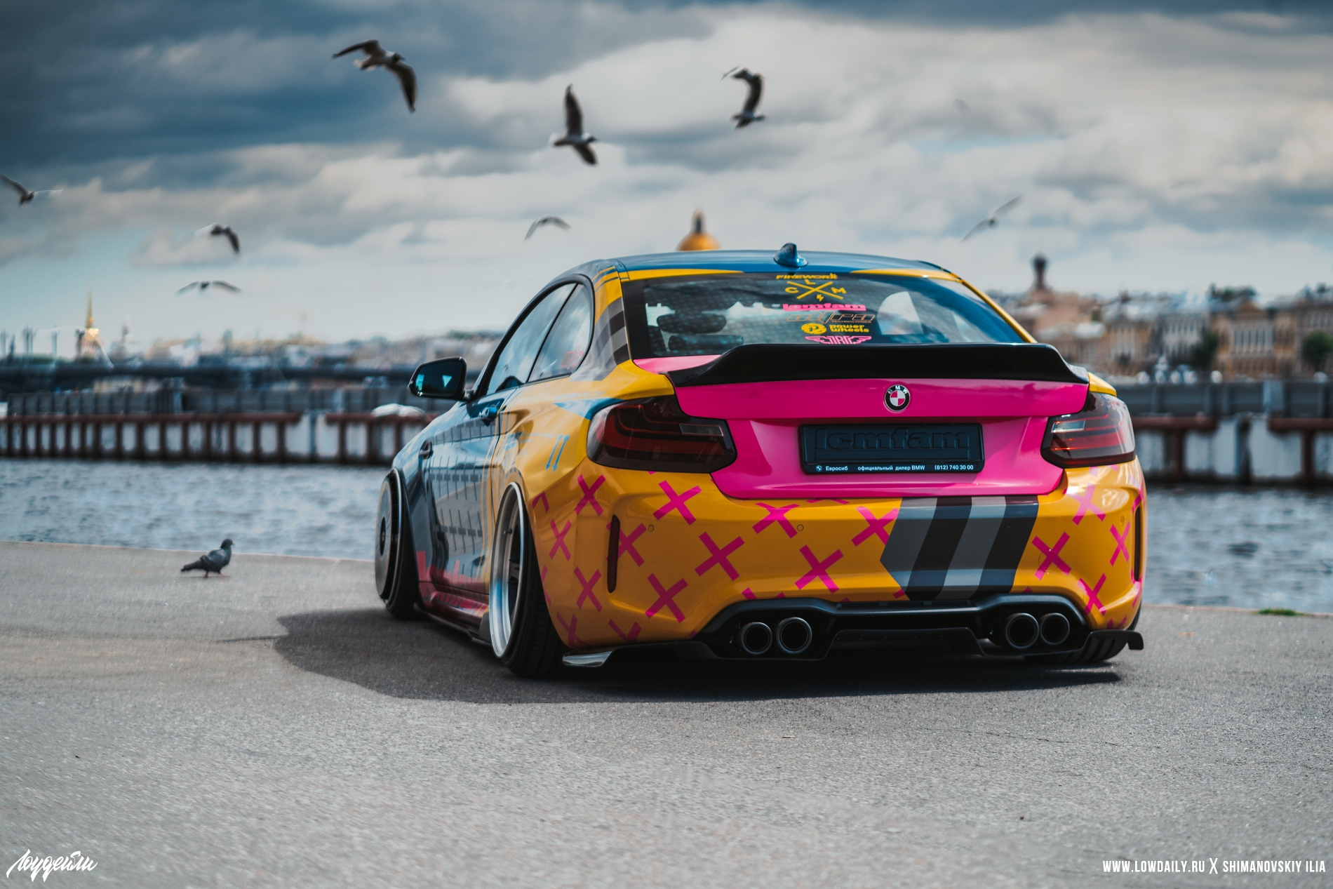 BMW M2 Low Cars Meet DSC05110