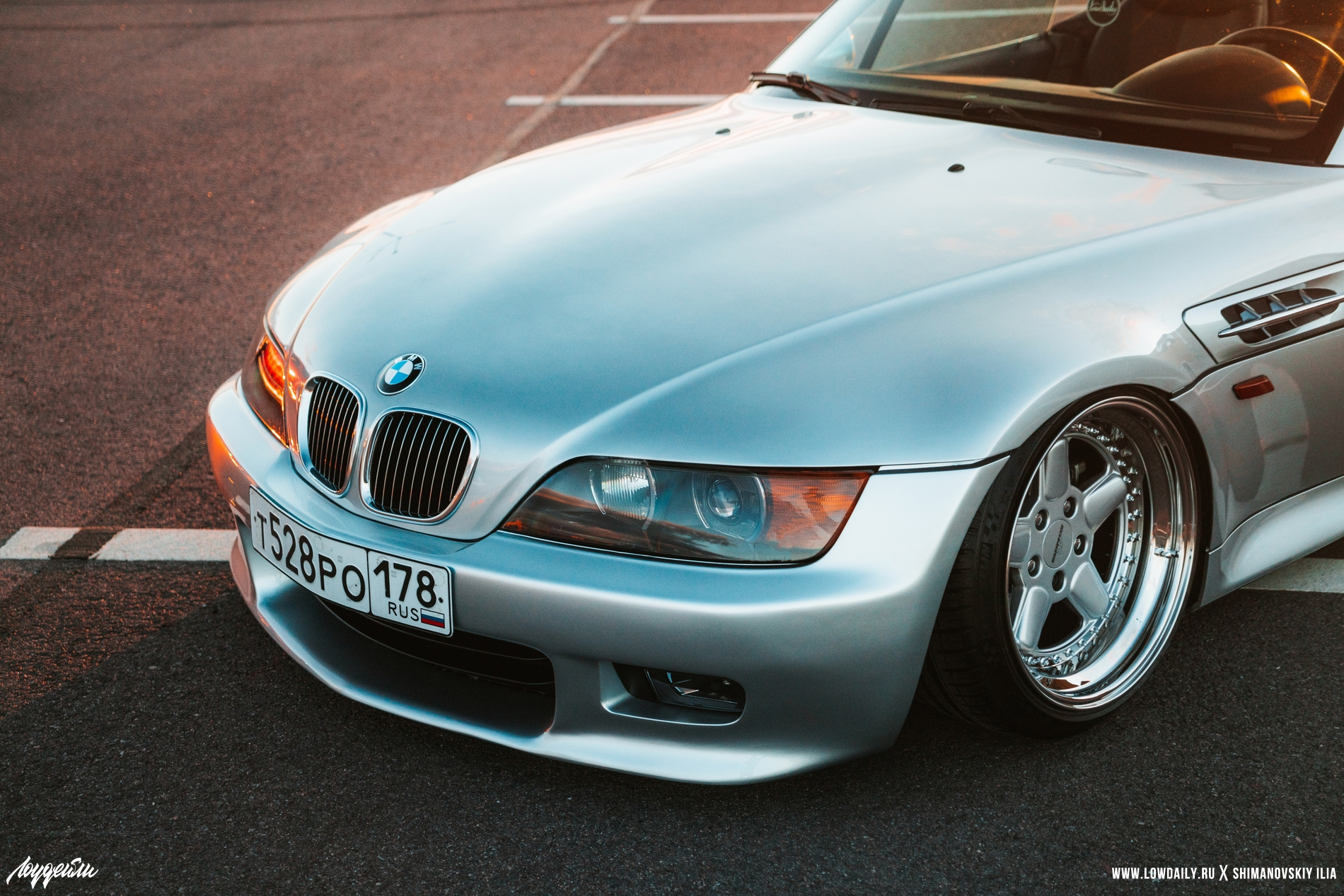 Clean look stance OEM BMW Z3 Roadster - Saint-P.