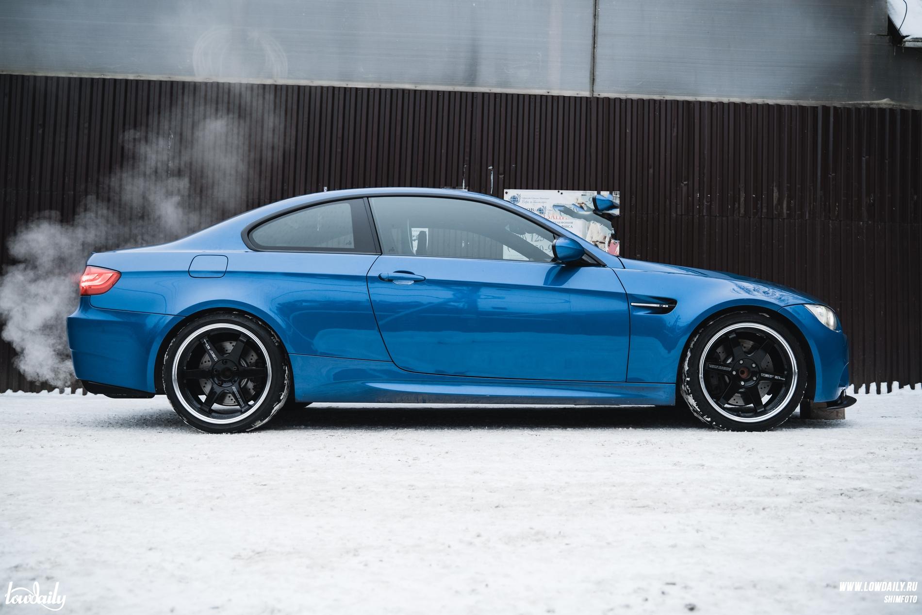 BMW M3 E92 Te37DSC05187