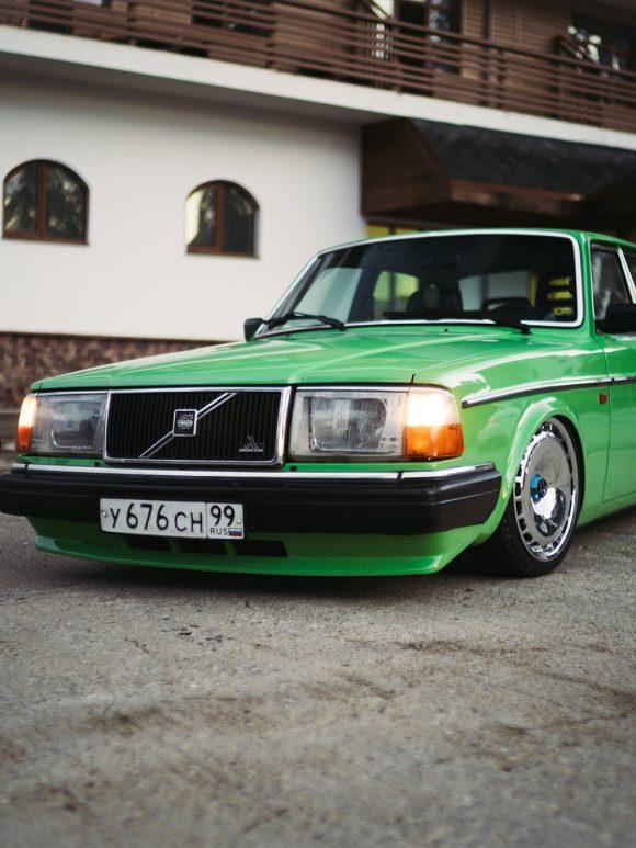 Volvo 240 — Настоящий семейный