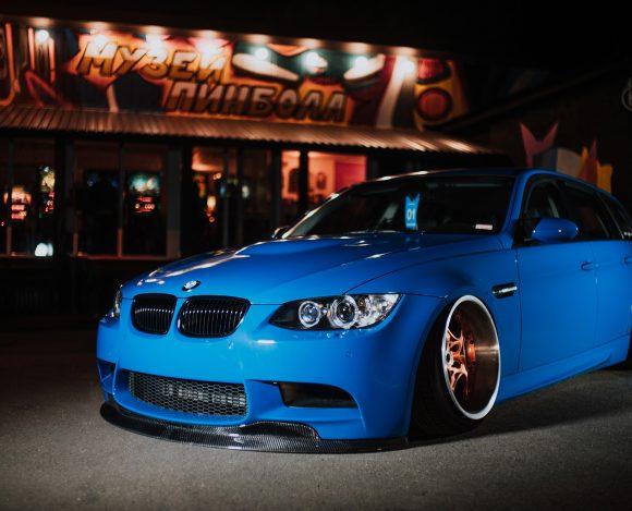 BMW E91 — Расточитель