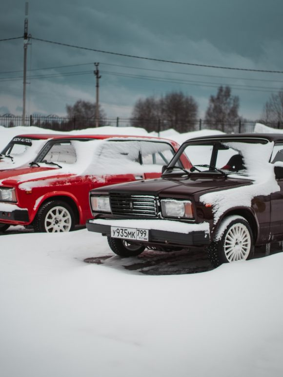 Мотопарк Вельяминово — Зимний дрифт на Жигулях